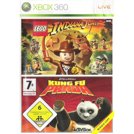 Lego Indiana Jones + Kung Fu Panda