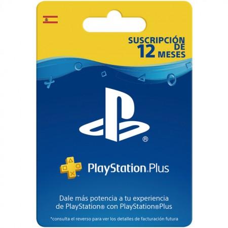 Suscripción de 12 Meses PlayStation Plus