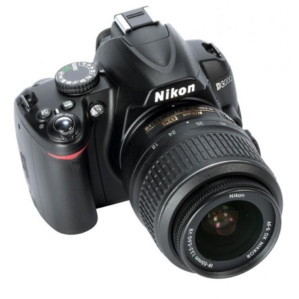 Nikon D3000+ Objetivo 18-55mm
