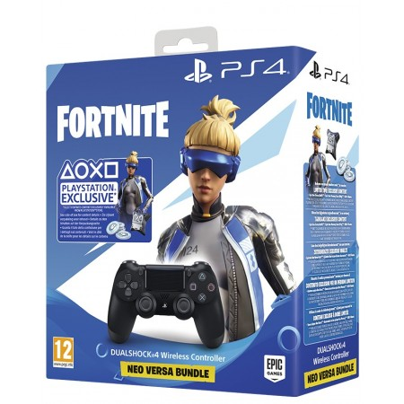 Pack Neo Versa Fortnite + Dual Shock 4