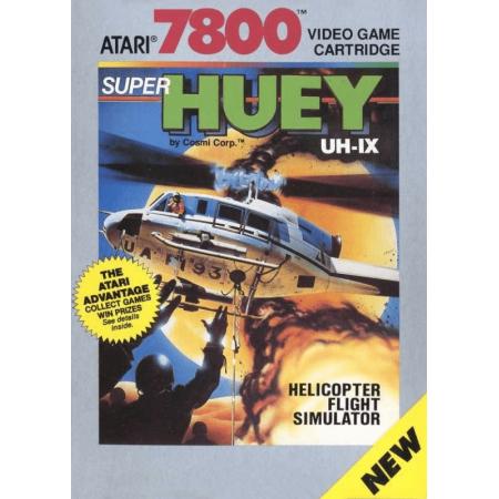 Super Huey UH-IX Atari 7800