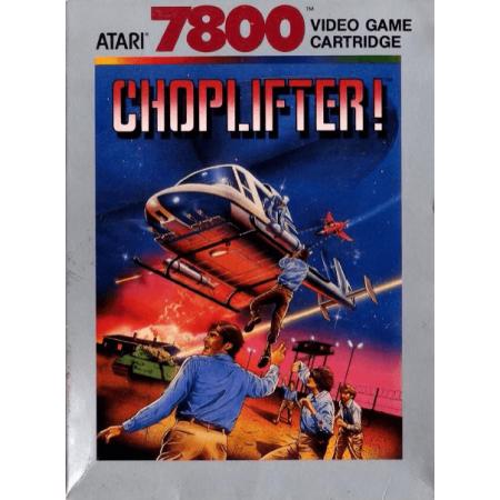 Choplifter! Atari 7800