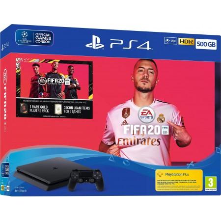 Pack PlayStation 4 Slim (2 Mandos) + FIFA 20