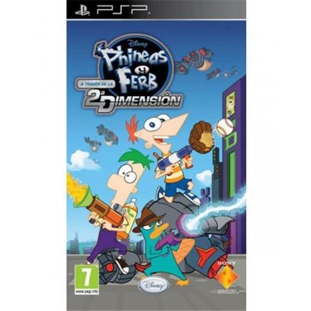 Phineas y Ferb A Traves De la 2ª Dimension