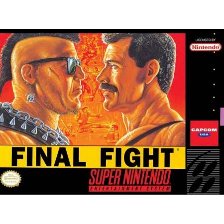 Final Fight (Versión NTSC)