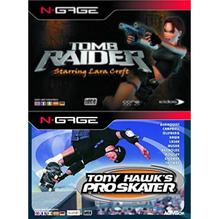 Tony Hawk's Pro Skater + Tomb Raider Value Pack