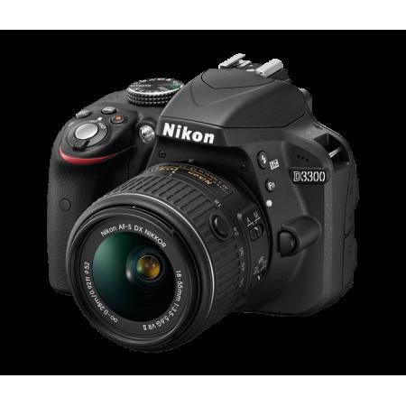 Nikon D3300 + Objetivo 18-55mm