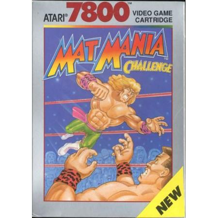 Mat Mania Challenge Atari 7800