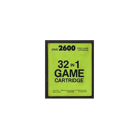 Cartucho 32 en 1 Atari 2600