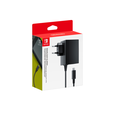 Adaptador de Corriente de Nintendo Switch