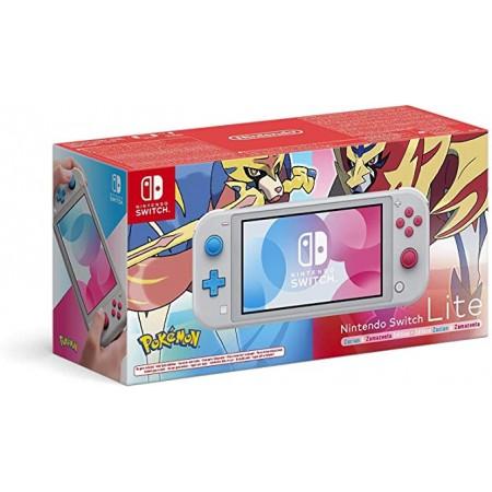 Nintendo Switch Lite Edición Zacian y Zamazenta