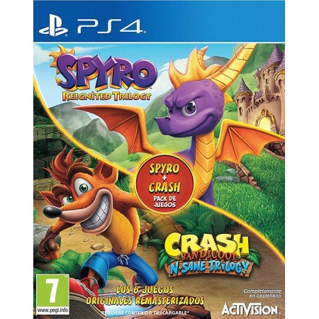 Spyro Reignited Trilogy + Crash Bandicoot N-Sane Trilogy