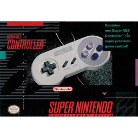 Mando Super Nintendo (Con Caja)