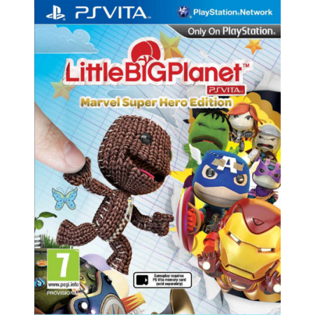 Little Big Planet Marvel Super Hero Edition