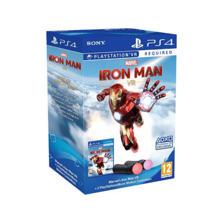 Pack Iron Man VR + 2 Mandos Move