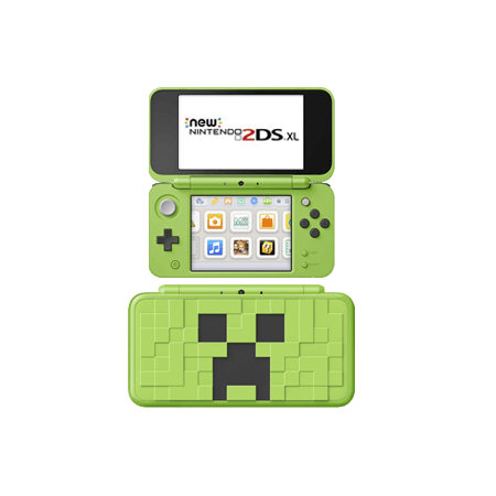 New Nintendo 2DS XL Edición Minecraft