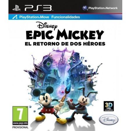 Epic Mickey El Retorno de Dos Heroes
