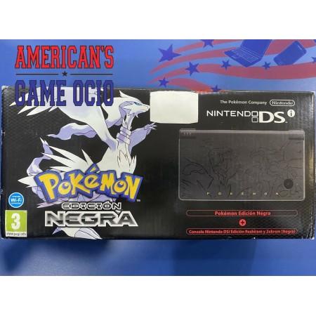 Nintendo DSi Edición Limitada Pokémon Edición Negra (PAL. LIMITED) NUEVO