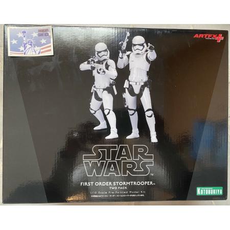 Figura Star Wars First Orden Storm Trooper Two Pack Escala 1:10 Kotobukiya